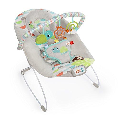 Hamaca de bebé con vibraciones relajantes y melodías